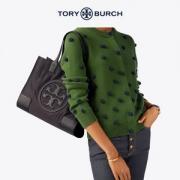 TORY BURCH 汤丽柏琦 ELLA  小号 手提包托特包 56282 2色