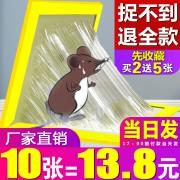 老鼠贴胶超强力粘鼠板10张  券后10.8元¥11