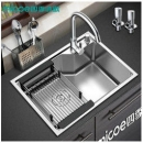 Micoe 四季沐歌 M-B1002(58)304不锈钢厨房单槽套装368元