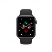 Apple 苹果 Watch Series 5 智能手表 (GPS、深空灰色铝金属表壳、黑色运动型表带、44毫米)