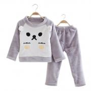 童色安年 儿童法兰绒睡衣套装 24.9元包邮¥25