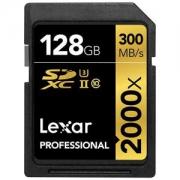 雷克沙 Lexar Professional 2000x 128GB UHS-II/U3 存储卡 读300MB/s