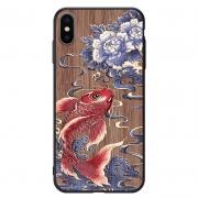 kingpos iPhone7-XsMax手机壳 木纹浮雕彩绘壳 14元包邮(需用券)