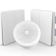 Aqara 智能灯控组合套装 网关(Apple HomeKit版)+墙壁开关(单火双键)x2 457元包邮