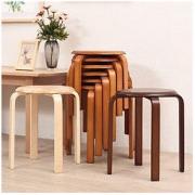JIAYI 家逸 全实木家用餐凳换鞋凳