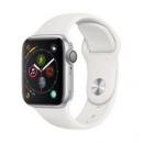 18点开始: Apple 苹果 Apple Watch Series 4 智能手表 (银色铝金属、GPS、40mm、白色运动表带)2399元包邮