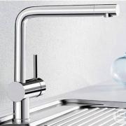 Blanco 铂浪高 Linus-S系列 Vario 可抽拉式厨房龙头