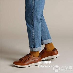Clarks 其乐 Un Trail Form 男士真皮系带休闲鞋