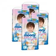 Moony 尤妮佳 男婴用拉拉裤 L44片*4包