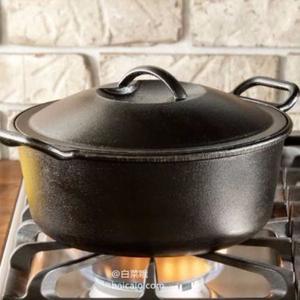 Lodge 洛奇 P10D3 铸铁荷兰锅煮锅 带盖 4夸脱