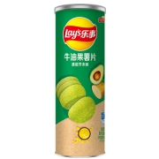 乐事无限薯片 牛油果清甜芥末味90克*3件16.83元(合5.61元/件)