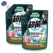 超能植翠低泡洗衣液1kg*2袋¥19