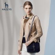 Hazzys 哈吉斯 ASWSH09AH14 新款英伦风衣女 2392元包邮¥2392