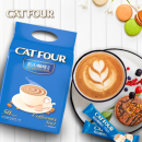 Catfour蓝山风味咖啡三合一 1袋40杯 12.9元包邮¥13