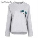 La Chapelle 拉夏贝尔 女士原宿风卫衣29.9元包邮