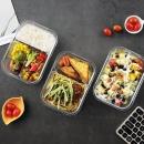 iCook 玻璃饭盒 410ml+小麦秸秆餐具  券后7.8元¥8