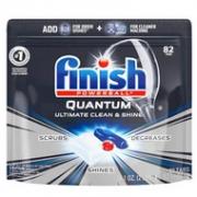 Prime会员:82块x3件  Finish 亮碟 Quantum系列 洗碗机洗涤块