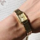 Seiko 精工 SXGL62 女士金色方形石英优雅时装腕表592.42元