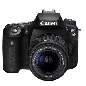Canon 佳能 EOS 90D APS-C画幅 单反相机套机(EF-S 18-55mm F3.5-5.6 IS STM镜头) 7799元包邮