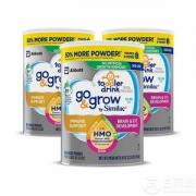 Similac 美版雅培 Go & Grow 心美力 含2′-FL HMO 3段婴幼儿配方奶粉1.02kg*3罐新低402.86元