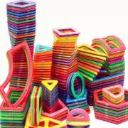 儿童百变磁力片122件套装