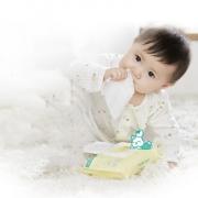 全棉时代 婴儿湿巾湿纸巾80抽X3袋 券后¥59.9