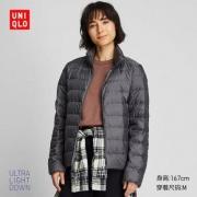 UNIQLO 优衣库 419776 女装 高级轻型羽绒茄克