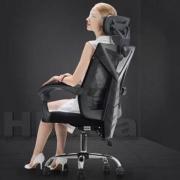 Hbada 黑白调 HDNY132 电脑椅 黑色299元包邮