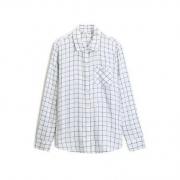Gap 496666  女装休闲格子长袖衬衫