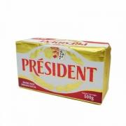 President 总统 发酵型动物淡味黄油块 500g*3件+凑单品