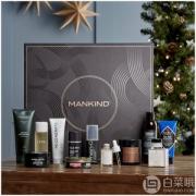 价值超£370,Mankind 2019圣诞礼盒 £70(需用码)