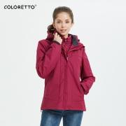 COLORETTO CTCF1901 女式冲锋衣 199元包邮(需用券)¥199