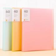 创易 糖果色插页文件夹 A4/20袋  券后5.9元¥6