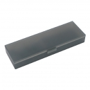 KOKUYO 国誉 WSG-PCJ102M 可调式PP文具盒 200×65×26mm 烟灰 6.91元(需用券)¥7