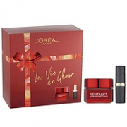 L'Oreal Paris 巴黎欧莱雅 La Vie En Glow 美妆礼盒(日霜50ml+哑光唇膏4.8g)