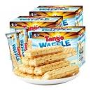 10点开始、88VIP:Tango 咔咔脆 牛奶夹心威化饼干 160g*3盒 *5件 64.78元包邮(前15分钟)¥65