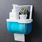 卫生间纸巾盒防水免打孔厕所抽纸厕手纸盒