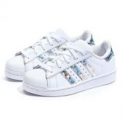 adidas 阿迪达斯 CG6708 男童SUPERSTAR运动鞋