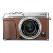 FUJIFILM 富士 X-E3 无反相机套机(XF23mm F2镜头)棕色5699元包邮