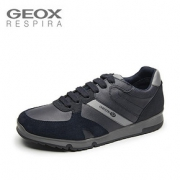 GEOX 健乐士 U823XB0ME22 男士系带休闲鞋