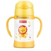 京东PLUS会员:Fisher-Price 费雪 婴儿童保温杯 300ML 黄色*4件