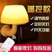 柬渝 遥控LED小夜灯