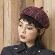 TOUCHFISH 触族 TC18QDBLQNG 女士秋冬贝雷帽 7.9元(需用券)¥8