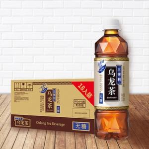 三得利 无糖乌龙茶500ml*18瓶 券后¥44