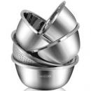 MAXCOOK 美厨 MCWA797 不锈钢盆筛五件套 30cm +凑单品69.7元(双重优惠)