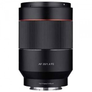 Samyang 三阳 35/1.4 Sony 索尼 E 卡口全幅相机单反相机自动对焦镜头,光圈 F1.4,黑色广角