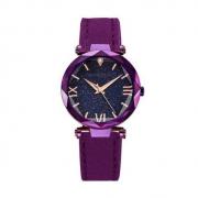 MSTRE 名仕爵 璀璨紫星空女士手表 1583紫皮带
