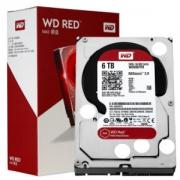 WD 西部数据 RED 红盘 256MB 5400RPM 机械硬盘 6TB