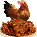 首农旗下 百年栗园 散养柴公鸡 2.5斤*2只89元包邮合44.5元/只