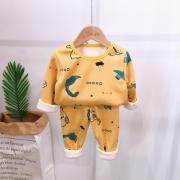 Garysoon 儿童保暖内衣套装 19.99元包邮(需用券)